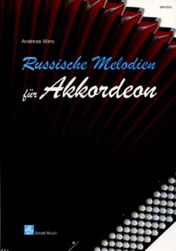 Andreas Wins - Russische Melodien Für Akkordeon - Sheet Music - di-arezzo.co.uk