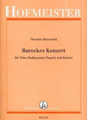 Theodor Hlouschek - Barockes Konzert - Partition - di-arezzo.fr