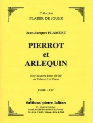 Jean-Jacques Flament - Pierrot y Arlequín - Partitura - di-arezzo.es