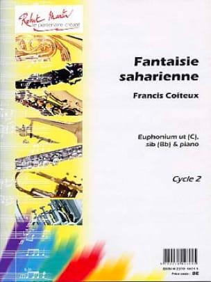 Fantaisie Saharienne Francis Coiteux Partition Tuba - laflutedepan