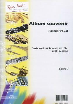 Pascal Proust - Album souvenir - Partition - di-arezzo.fr
