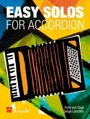 Easy Solos For Accordéon Gorp Fons Van Partition laflutedepan