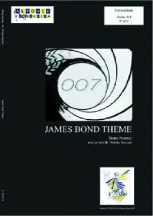 James Bond Thème Monty Norman Partition laflutedepan