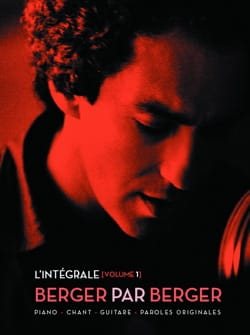 Michel Berger - Berger By Berger - The Complete Volume 1 - Partition - di-arezzo.co.uk