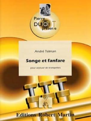 Songe Et Fanfare André Telman Partition Trompette - laflutedepan