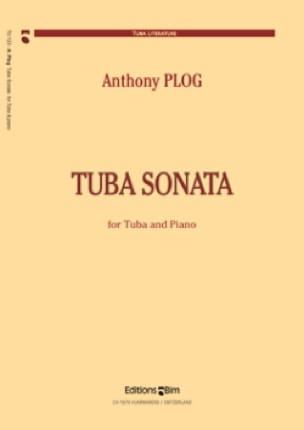 Anthony Plog - Tuba Sonata - Partition - di-arezzo.fr