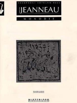 Monodie - François Jeanneau - Partition - Saxophone - laflutedepan.com