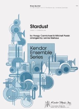 Hoagy Carmichael & Mitchell Parish - Stardust - Partition - di-arezzo.fr