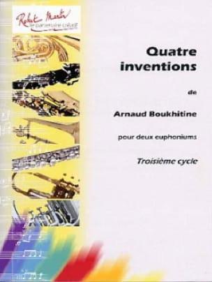 Arnaud Boukhitine - Quatre Inventions - Partition - di-arezzo.fr