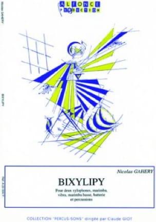 Bixylipy Nicolas Gahery Partition laflutedepan