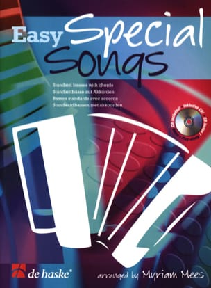 Easy Special Songs Myriam Mees Partition Accordéon - laflutedepan