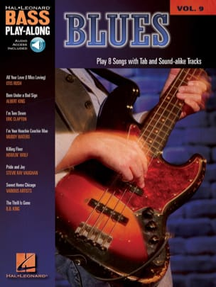 Bass Play-Along Volume 9 - Blues Partition Guitare - laflutedepan