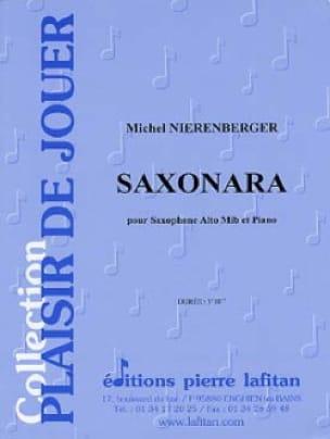 Saxonara Michel Nierenberger Partition Saxophone - laflutedepan