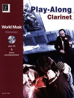 Yale Strom - World Music Klezmer Play-Along Clarinet - Partition - di-arezzo.fr