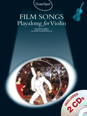 Guest Spot - Film Songs Playalong For Violin Partition laflutedepan
