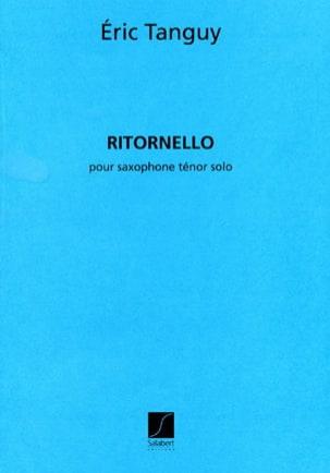 Eric Tanguy - Ritornello - Partition - di-arezzo.fr