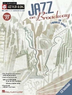 Jazz play-along volume 77 - Jazz On Broadway - laflutedepan.com