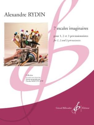 Alexandre Rydin - 7 Escales Imaginaires - Partition - di-arezzo.fr