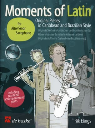 Rik Elings - Moments Of Latin - Sheet Music - di-arezzo.co.uk