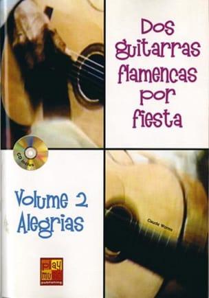 Dos Guitarras Flamencas Por Fiesta Volume 2 Alegrias - laflutedepan.com