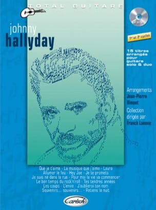 Johnny Hallyday - Total Guitar Collection - Sheet Music - di-arezzo.co.uk