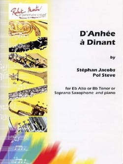 Jacobs Stéphan / Steve Pol - From Anhée to Dinant - Sheet Music - di-arezzo.co.uk