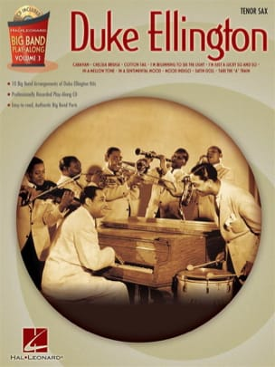 Duke Ellington - Big band play-along volume 3 - Duke Ellington - Partition - di-arezzo.fr
