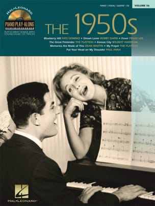 Piano Play-Along Volume 56 - The 1950s - laflutedepan.com