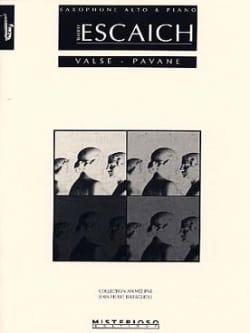 Thierry Escaich - Waltz - Pavane - Sheet Music - di-arezzo.co.uk