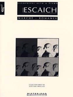 Thierry Escaich - Marche - Romance - Partition - di-arezzo.fr