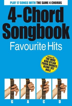 - 4-Chord Songbook, Favorite Hits - Sheet Music - di-arezzo.co.uk
