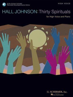 Hall Johnson - Thirty Spirituals - High Voice - Partition - di-arezzo.fr