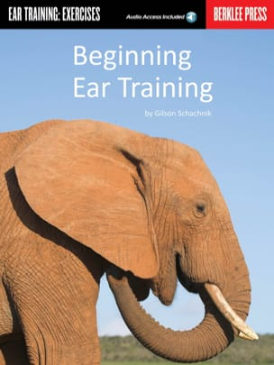 Gilson Schachnik - Beginning Ear Training - Sheet Music - di-arezzo.co.uk