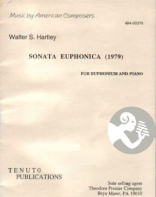 Walter S. Hartley - Sonata Euphonica (1979) - Partition - di-arezzo.fr