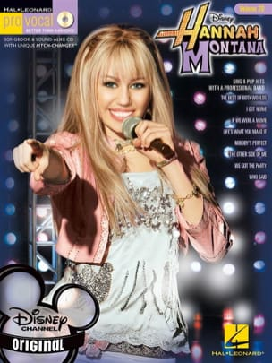 Pro Vocal Women's Edition Volume 20 - Hannah Montana laflutedepan