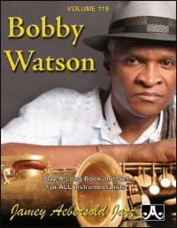 METHODE AEBERSOLD - Volume 119 - Bobby Watson - Sheet Music - di-arezzo.co.uk