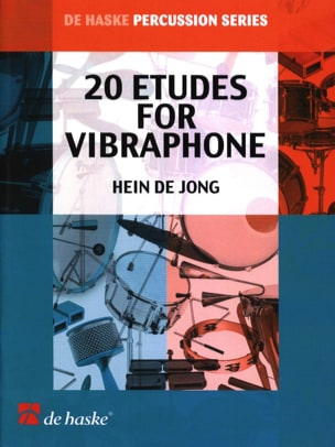Hein De Jong - 20 Studies For Vibraphone - Sheet Music - di-arezzo.com
