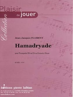 Hamadryade - Jean-Jacques Flament - Partition - laflutedepan.com