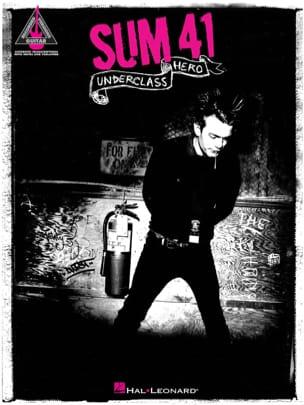 Sum 41 - Underclass Hero - Sheet Music - di-arezzo.co.uk