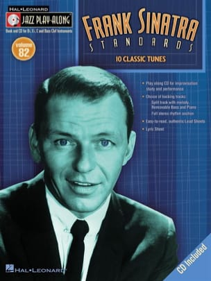 Frank Sinatra - Jazz play-along volume 82 - Frank Sinatra Standards - Sheet Music - di-arezzo.co.uk