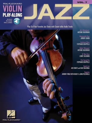 Violin play-along volume 7 - Jazz Partition Violon - laflutedepan