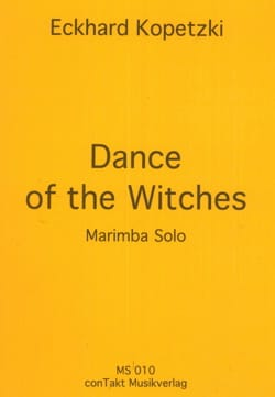 Dance of the witches Eckhard Kopetzki Partition Marimba - laflutedepan