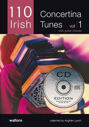 110 Irish Concertina Tunes Volume 1 - Aogan Lynch - laflutedepan.com