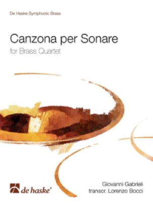Canzona Per Sonare - Giovanni Gabrieli - Partition - laflutedepan.com