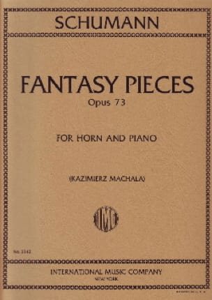 Fantasy Pieces Opus 73 - SCHUMANN - Partition - Cor - laflutedepan.com