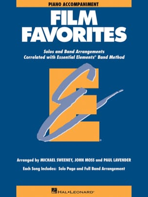 Film Favorites - Piano Accompagnement - laflutedepan.com