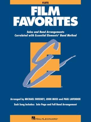 Film Favorites - Flûte Partition ENSEMBLES - laflutedepan