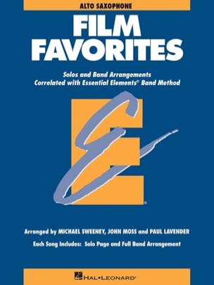Film Favorites - Eb Alto Saxophone Partition laflutedepan