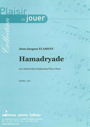 Hamadryade Jean-Jacques Flament Partition Tuba - laflutedepan
