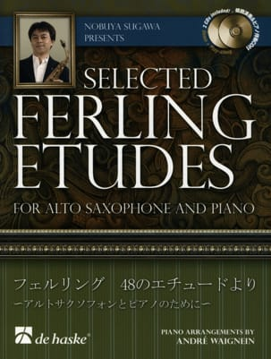 Selected Ferling études Franz Wilhelm Ferling Partition laflutedepan